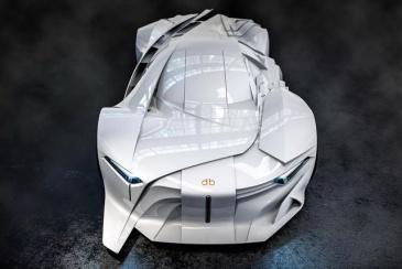 全球首款全尺寸3D打印概念车新鲜出炉