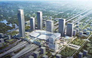 130万方超级TOD启航 融创拿下杭州西站枢纽站城北综合体地块