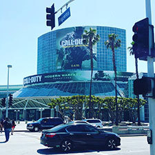 《COD:无限战争》登E3户外广告