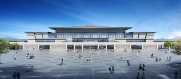 好消息,鲁南高铁济宁北站即将建成投入使用