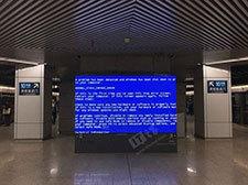 Win7还是XP?北京地铁5号线站台广告遭遇蓝屏杀