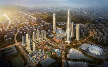 深圳世茂深港国际中心商业部分首次曝光,2021全面启动招商