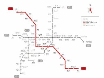 天津地铁站一号线套餐